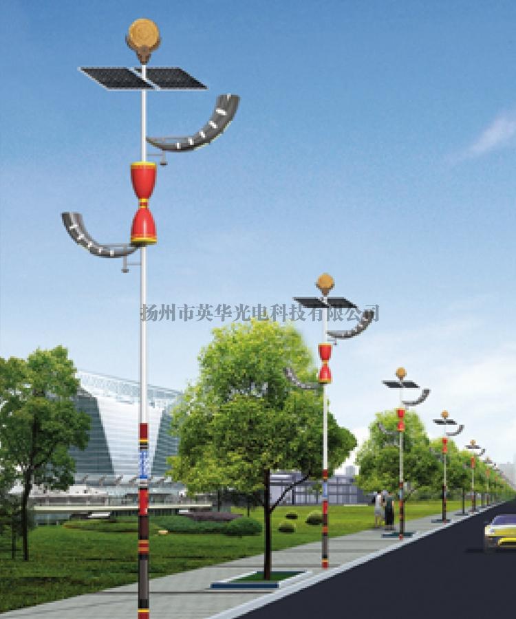 民族特色太阳能路灯厂家