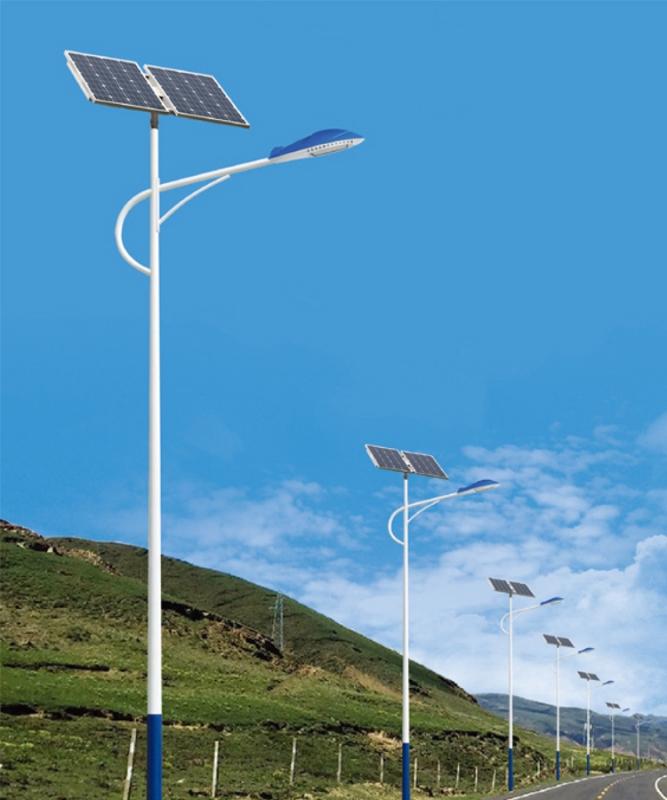 海螺臂太阳能路灯