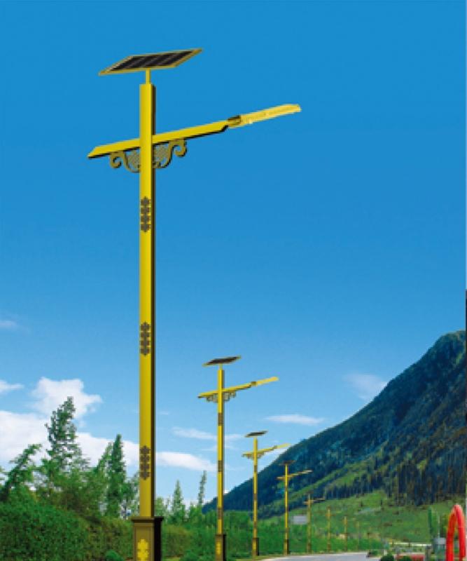 民族特色太阳能路灯价格